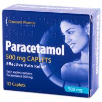 Crescent Paracetamol 500mg Caplets 32s