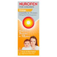 Nurofen Oral Suspension Orange 200ml