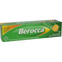 Berocca Orange 15 Effervescent Tablets
