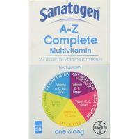 Sanatogen A-Z Complete Multivitamin 30 Tablets