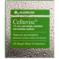Celluvisc Eye Drops 1% w/v Unite Dose 30s