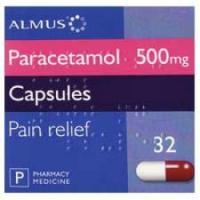 Paracetamol Capsules 500mg (32)