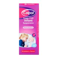 Calpol Infant Strawberry Sugar Free Suspension