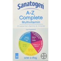 Sanatogen A-Z Complete Multivitamins