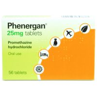 Phenergan 25mg Tablets (56)