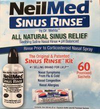 NeilMed Sinus Rinse Kit (60)