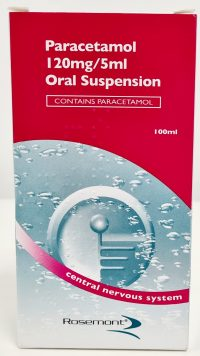 Paracetamol 120mg/5ml Oral Suspension