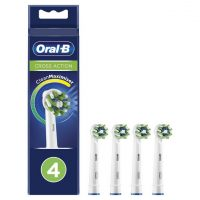 Oral-B CrossAction Electric Toothbrush Heads – 4 Pack
